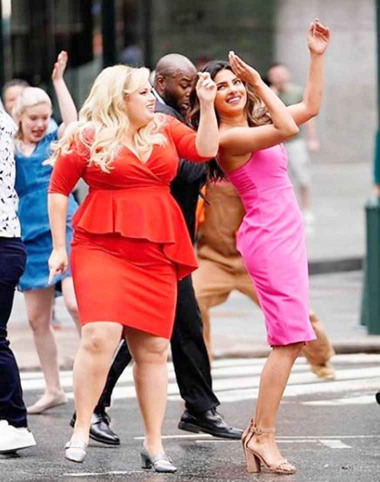 priyanka chopra and rebel wilson in isnt it romantic
