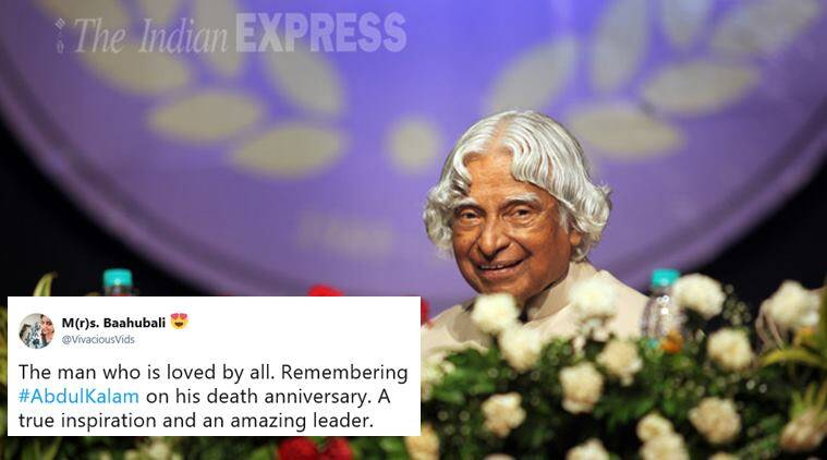 dr apj abdul kalam, abdul kalam death anniversary, missile man, india people's president, abdul kalam life, abdul kalam quotes, india news, indian express