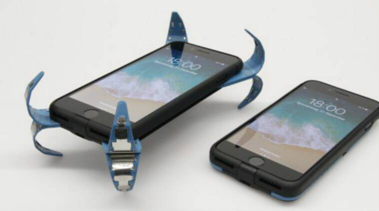 This German student's case is like an 'airbag' to keep your smartphonesafe