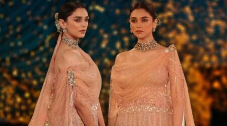 India Couture Week 2018: Aditi Rao Hydari will leave you spellbound in this Tarun Tahiliani lehenga