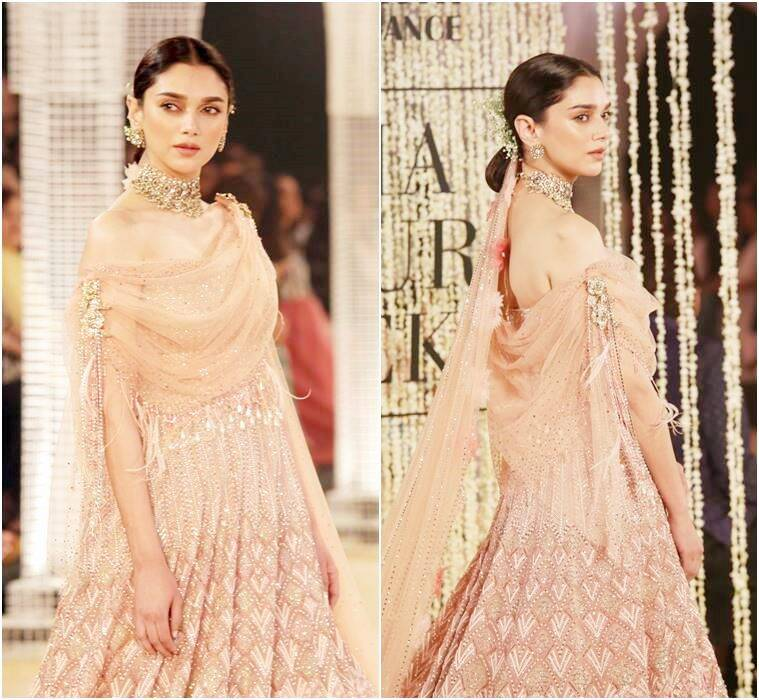 Aditi Rao Hydari, India Couture Week 2018, Tarun Tahiliani, Aditi Rao Hydari Tarun Tahiliani, Aditi Rao Hydari India Couture Week 2018, Tarun Tahiliani India Couture Week 2018, Elysium, Aditi Rao Hydari latest photos, Aditi Rao Hydari updates, celeb fashion, bollywood fashion, indian express, indian express news