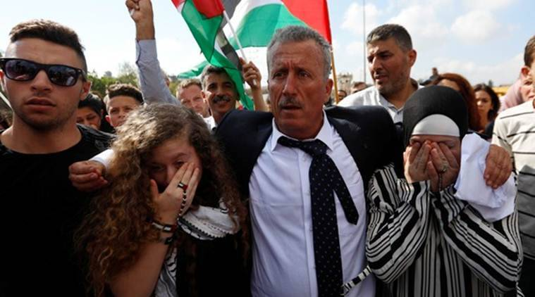 Ahed Tamimi: Israel frees Palestinian viral slap video teen
