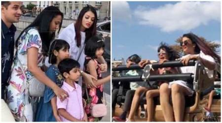 Aishwarya Aaradhya Bachchan Paris photos