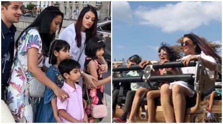 See Photos With 2018 Photos: Aishwarya Rai And Daughter Aaradhya Bachchan's 'fun Time