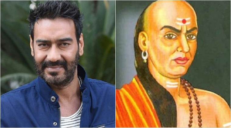 Image result for Ajay Devgn announces upcoming film with Neeraj Pandey, will be seen in the role of Chanakya
