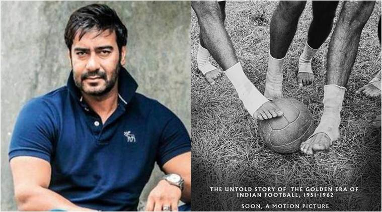 ajay devgn in football biopic