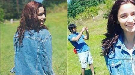 Ranbir Kapoor and Alia Bhatt are having a good time in Bulgaria