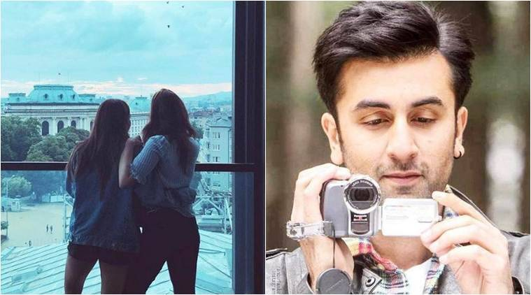 alia bhatt and ranbir kapoor in bulgaria