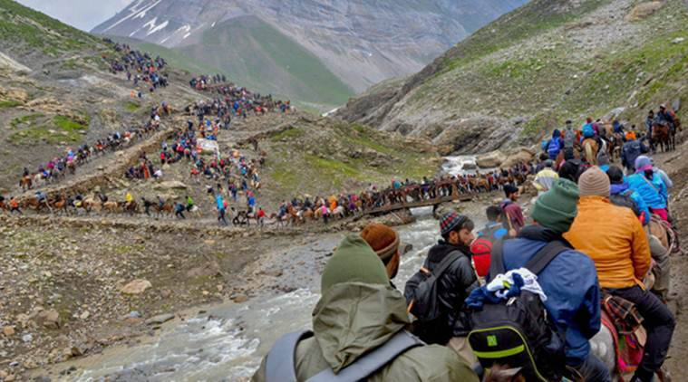 Amarnath Yatra hampered due to protest on Burhan Wani's death anniversary