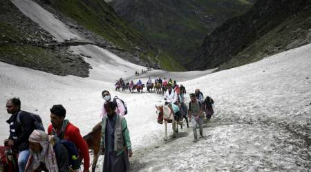 Amarnath yatra, when is amarnath yatra, amarnath yatra 2019 dates, amarnath yatra 2019, Amarnath Pilgrimage, Shri Amarnath Shrine Board, indian express