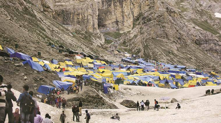 At Amarnath Yatra's peak point, 1 doctor, 2 aides hold medical defence amid Nature's fury