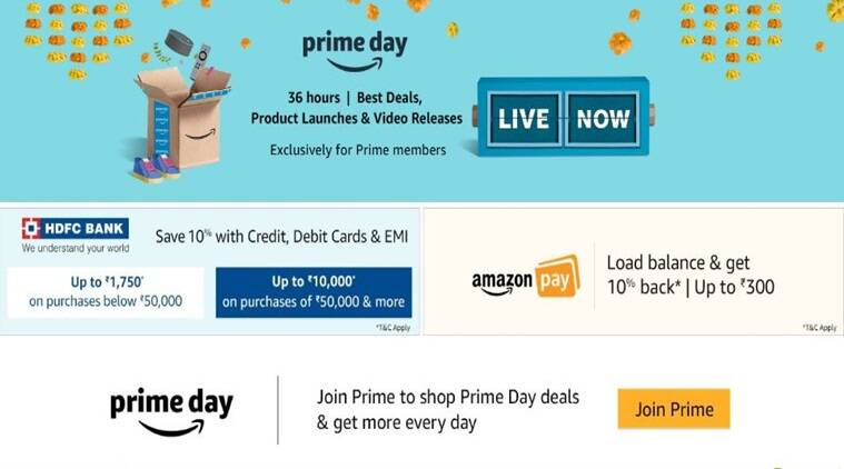 amazon India, amazon sale, amazon prime day 2018 sale, amazon prime sale, amazon prime members, amazon prime day, amazon prime day best deals, amazon.in, amazon prime day sale today, amazon india amazon prime day sale 2018