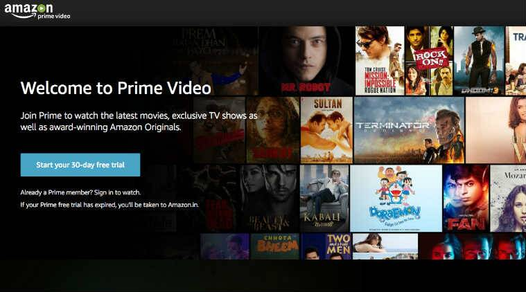 How to search movies on amazon prime app