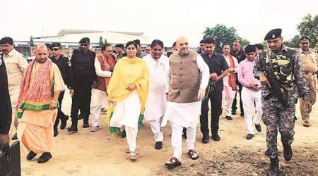 Amit Shah in Mirzapur: No previous govt had courage to implement MSP hike for crops