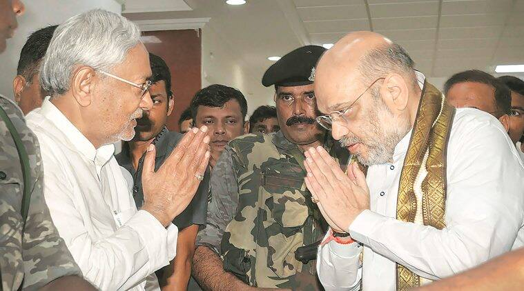 Amit Shah meets Nitish Kumar, says BJP knows how to take care of allies