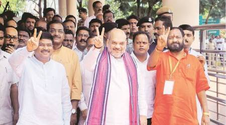 Targeting 120 Assembly seats, Amit Shah reviews BJP's poll preparations in Odisha