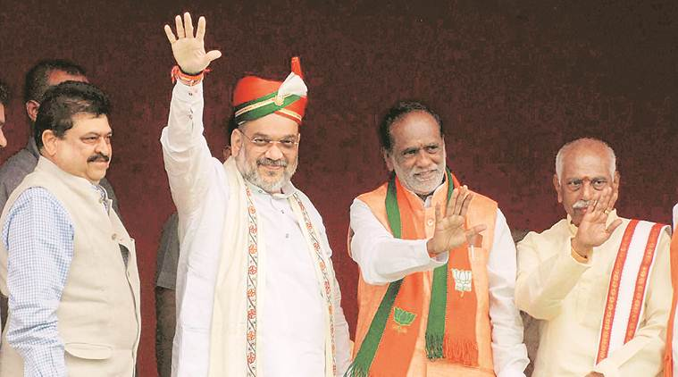 Telangana polls: Amit Shah sets tone, says BJP's target more than 60 seats