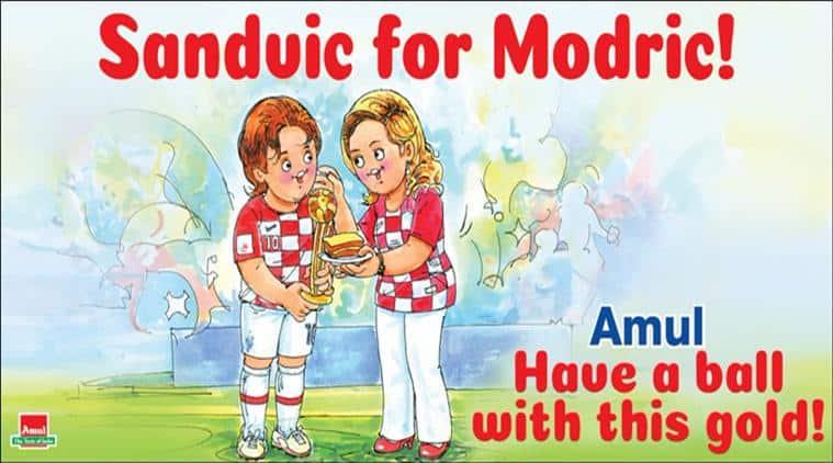 fifa world cup 2018, football world cup winner, croatia football world cup, golden ball fifa 2018, Luka Modric, Kylian Mbappe, Kolinda Grabar-Kitarovic, sports news, indian express