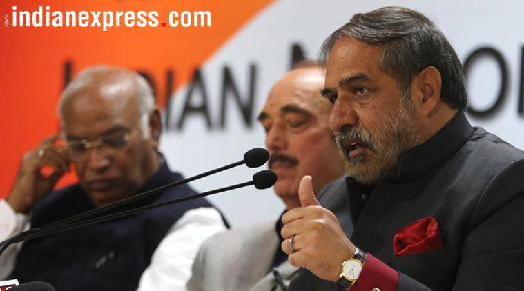 congress, congress to election commission, election commission, narendra modi, anand sharma, india news