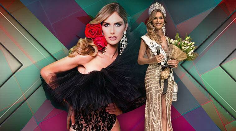 Angela Ponce, Miss Universe Spain, Angela Ponce Miss Spain, Angela Ponce transgender, transgender Miss Universe Spain, miss universe, miss spain, indian express, indian express news