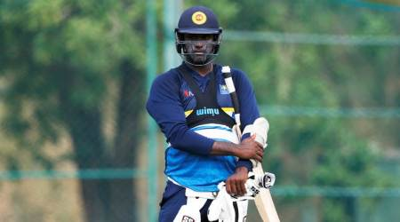 Sri Lanka vs South Africa, SL vs SA, Angelo Mathews, Angelo Mathews Sri Lanka, Angelo Mathews captain, sports news, cricket, Indian Express
