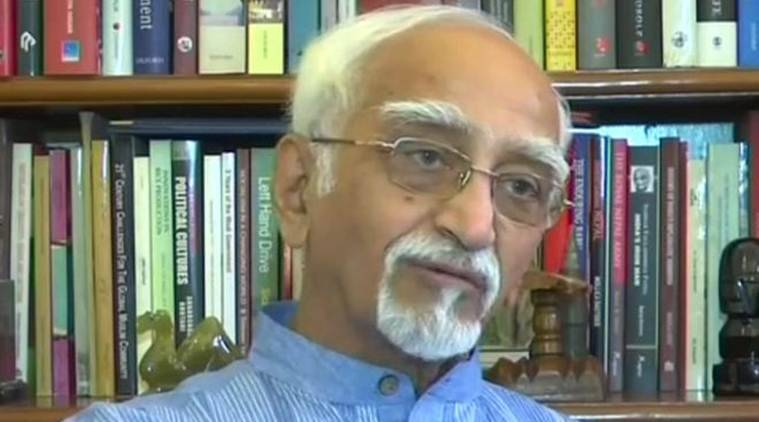 hamid ansari sharia courts, hamid ansari aimplb, aimplb sharia courts proposal, former voice president hamiud ansari, hamid ansari interview, muslim laws
