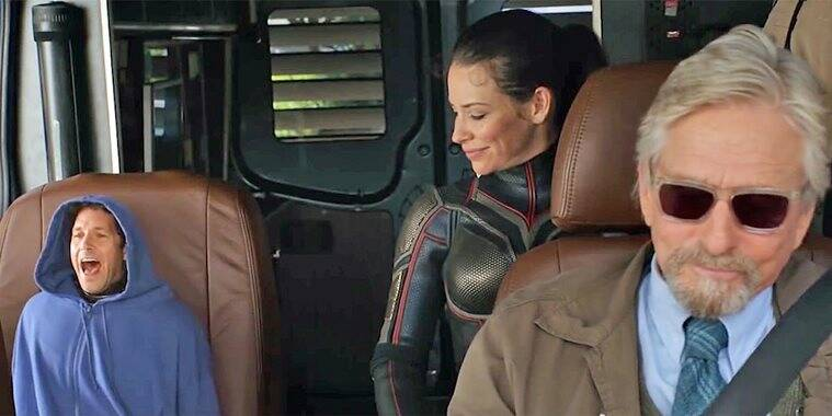 antman and the wasp funny scenes
