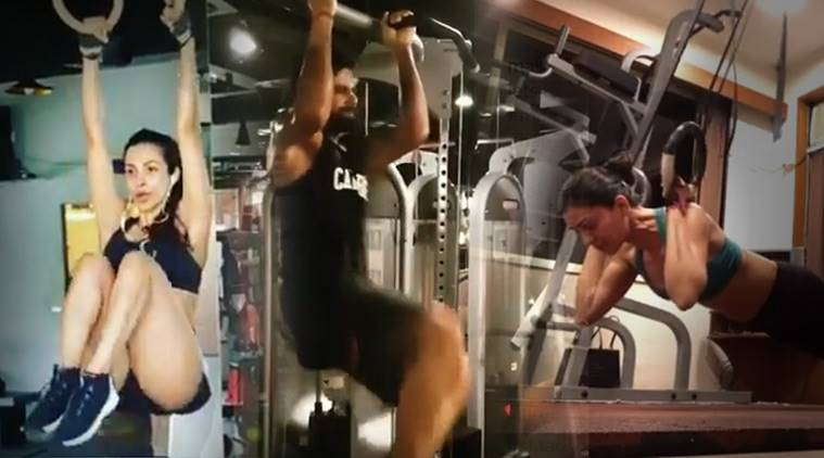 anti gravity workouts, ant gravity pilates, anti gravity yoga, aerial workouts, Virat kohli workout videos, Sushmita Sen workout videos, malaika arora workout videos, huzefa lokhandwala fitness tips, indian express, indian express news
