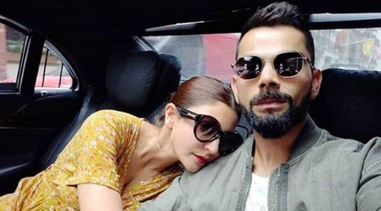 virat kohli, anushka sharma latest photo