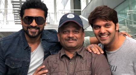 After Mohanlal, Allu Sirish and Sayyeshaa, Arya joins KV Anand's Suriya 37