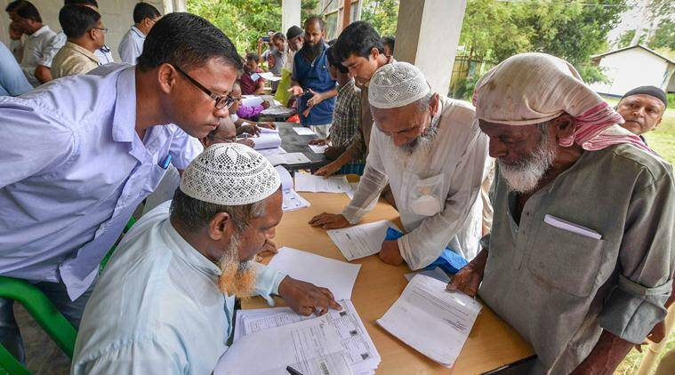 Assam NRC Final Draft List Live Updates: The first draft was published on December 31, 2017, and the names of 1.9 crore of the 3.29 crore applicants were incorporated. (PTI)