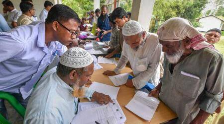 Govt teacher engaged in NRC updation detained after being declared illegal Bangladeshimigrant