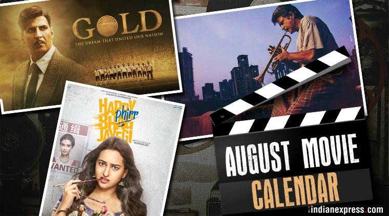 Bollywood movies in August: Fanney Khan, Karwaan, Gold and