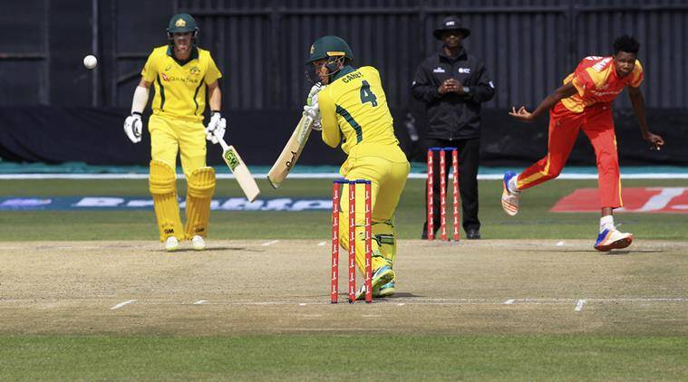 Australia vs Zimbabwe Aus vs Zim Zimbabwe Australia Travis Head Solomon Mire Glenn Maxwell sports news cricket Indian Express