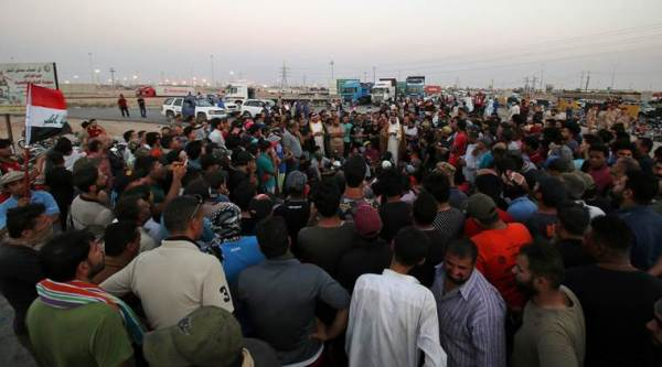 Iraq protests spread to Najaf in fifth day of unrest over services, corruption