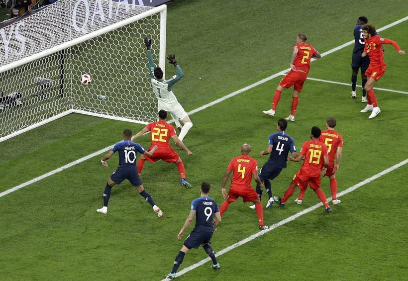 FIFA World Cup 2018: Samuel Umtiti header against Belgium puts France in final