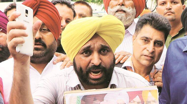 Ten months after he quit, Bhagwant Mann back as Punjab AAP president