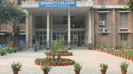 The 18-year-old studied at DU's Bharati college