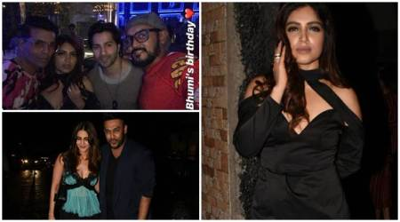 Inside Bhumi Pednekar's birthday party
