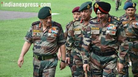Army chief Bipin Rawat visits Akhnoor sector in Jammu