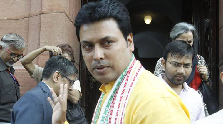 "Tripura airport renamed, CM Biplab Deb talks of ""happiness"" when asked about lynching"
