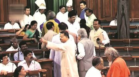 No-confidence motion in Parliament: Unable to decide, BJD walks out