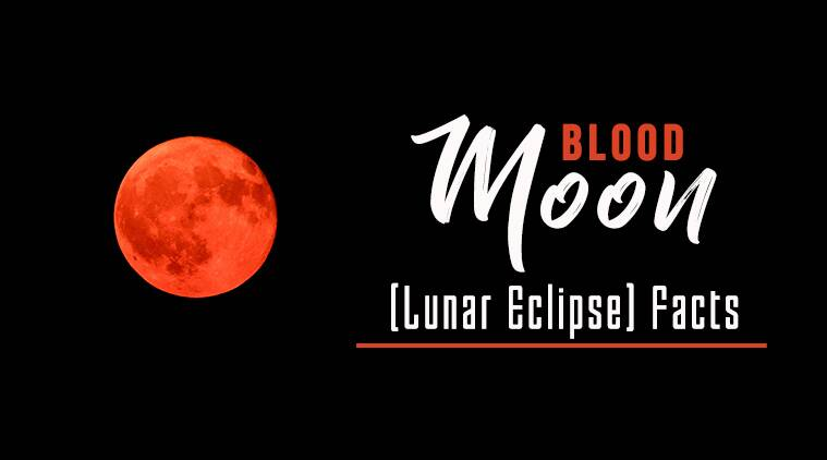 Blood moons dates in Australia