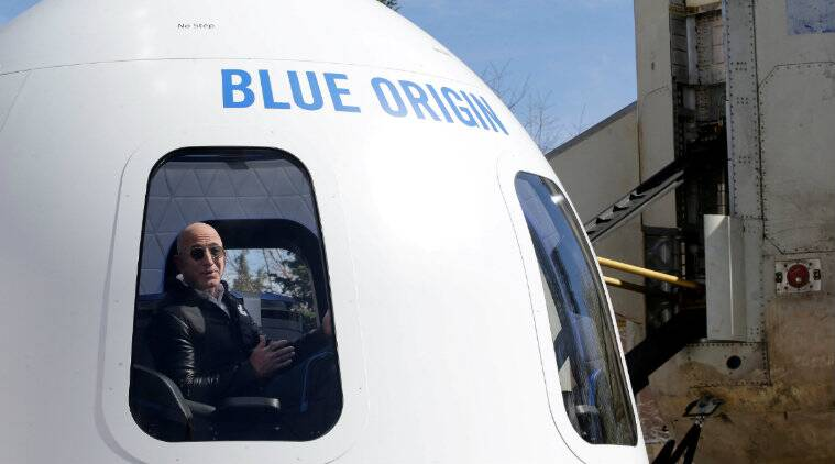 Blue Origin, Amazon, Jeff Bezos, Space, Space Travel, Elon Musk, Richard Branson, Outer Space, SpaceX, Boeing, Virgin Galactic, Boeing Co 747 jetliner, Space rides
