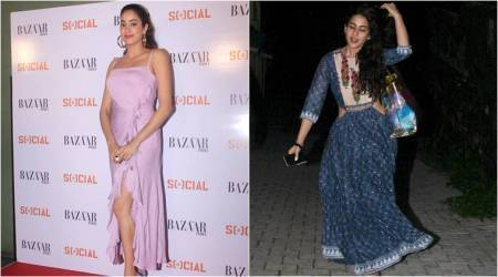 Bollywood Fashion Watch for July 13: Janhvi Kapoor and Sara Ali Khan show two different worlds of fashion