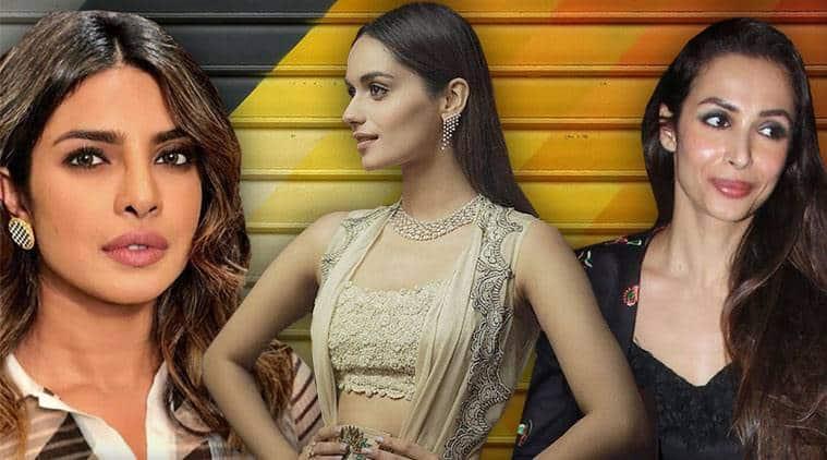 celeb fashion, Bollywood fashion, Priyanka Chopra, Manushi Chhillar, Huma Qureshi, Ranveer Singh, Janhvi Kapoor, indian express, indian express news