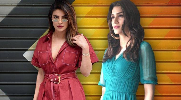 Bollywood fashion, celeb fashion, Priyanka Chopra, Kriti Sanon, Neha Dhupia, Vidya Balan, indian express, indian express news