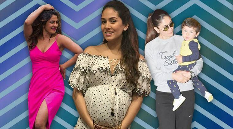 celeb fashion, Bollywood fashion, Priyanka Chopra, Mira Kapoor, Sonam Kapoor, Kareena Kapoor Khan, indian express, indian express news