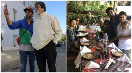 Amitabh Bachchan explores New York with Brahmastra co-star Ranbir Kapoor, see photos