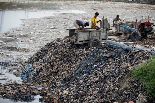 Inside Bangladesh's polluted billion dollar leather industry